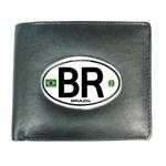 BR - Brazil Euro Oval Wallet
