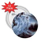 Three Women Vampires in White 2.25  Button (10 pack)