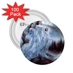Three Women Vampires in White 2.25  Button (100 pack)