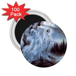 Three Women Vampires in White 2.25  Magnet (100 pack)