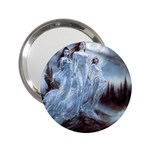 Three Women Vampires in White 2.25  Handbag Mirror