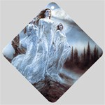 Three Women Vampires in White Car Window Sign