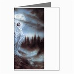 Three Women Vampires in White Greeting Card