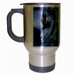 Three Women Vampires in White Travel Mug (Silver Gray)