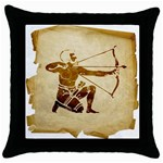 Sagitarius2637419 Throw Pillow Case (Black)