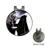 Dark Gothic Woman Magik Goth Golf Ball Marker Hat Clip