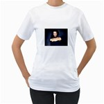 Gothic Girl Black and Blue Women s T-Shirt