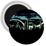 City of the Apocalypse Goth Night 3  Magnet