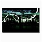 City of the Apocalypse Goth Night Postcard 4  x 6
