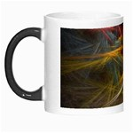 Pastel Spikes on Black Fractal Morph Mug