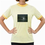 Light in The Wall Goth Punk Fantasy Women s Fitted Ringer T-Shirt