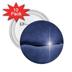 Light in The Wall Goth Punk Fantasy 2.25  Button (10 pack)