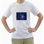 Light in The Wall Goth Punk Fantasy White T-Shirt