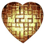 Golden Eye Puzzzle Ligjht Fantasy Jigsaw Puzzle (Heart)