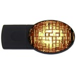Golden Eye Puzzzle Ligjht Fantasy USB Flash Drive Oval (4 GB)