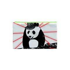 Deejay Panda Cosmetic Bag (xs) by Valentinaart