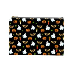 Halloween Pattern Cosmetic Bag (large)  by Valentinaart