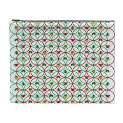 Christmas Decorations Background Cosmetic Bag (xl) by Onesevenart