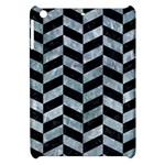 CHEVRON1 BLACK MARBLE & ICE CRYSTALS Apple iPad Mini Hardshell Case