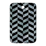 CHEVRON1 BLACK MARBLE & ICE CRYSTALS Samsung Galaxy Note 8.0 N5100 Hardshell Case