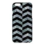 CHEVRON2 BLACK MARBLE & ICE CRYSTALS Apple iPhone 6 Plus/6S Plus Hardshell Case