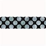 CIRCLES2 BLACK MARBLE & ICE CRYSTALS (R) Large Bar Mats