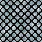 CIRCLES2 BLACK MARBLE & ICE CRYSTALS (R) Magic Photo Cubes