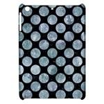 CIRCLES2 BLACK MARBLE & ICE CRYSTALS (R) Apple iPad Mini Hardshell Case