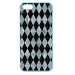 DIAMOND1 BLACK MARBLE & ICE CRYSTALS Apple Seamless iPhone 5 Case (Color)