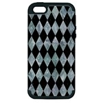 DIAMOND1 BLACK MARBLE & ICE CRYSTALS Apple iPhone 5 Hardshell Case (PC+Silicone)