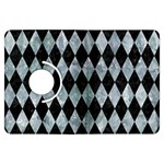 DIAMOND1 BLACK MARBLE & ICE CRYSTALS Kindle Fire HDX Flip 360 Case