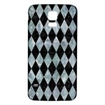 DIAMOND1 BLACK MARBLE & ICE CRYSTALS Samsung Galaxy S5 Back Case (White)
