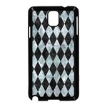 DIAMOND1 BLACK MARBLE & ICE CRYSTALS Samsung Galaxy Note 3 Neo Hardshell Case (Black)