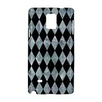 DIAMOND1 BLACK MARBLE & ICE CRYSTALS Samsung Galaxy Note 4 Hardshell Case