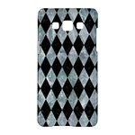 DIAMOND1 BLACK MARBLE & ICE CRYSTALS Samsung Galaxy A5 Hardshell Case