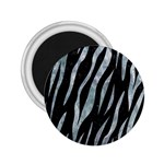 SKIN3 BLACK MARBLE & ICE CRYSTALS (R) 2.25  Magnets