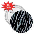 SKIN3 BLACK MARBLE & ICE CRYSTALS (R) 2.25  Buttons (10 pack)