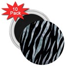 SKIN3 BLACK MARBLE & ICE CRYSTALS (R) 2.25  Magnets (10 pack)