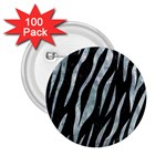SKIN3 BLACK MARBLE & ICE CRYSTALS (R) 2.25  Buttons (100 pack)