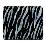 SKIN3 BLACK MARBLE & ICE CRYSTALS (R) Large Mousepads