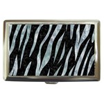 SKIN3 BLACK MARBLE & ICE CRYSTALS (R) Cigarette Money Cases