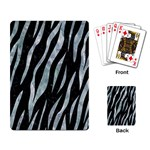 SKIN3 BLACK MARBLE & ICE CRYSTALS (R) Playing Card