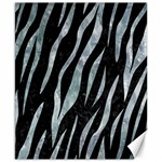 SKIN3 BLACK MARBLE & ICE CRYSTALS (R) Canvas 8  x 10