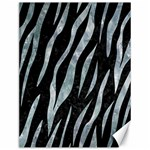 SKIN3 BLACK MARBLE & ICE CRYSTALS (R) Canvas 12  x 16