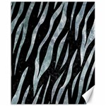 SKIN3 BLACK MARBLE & ICE CRYSTALS (R) Canvas 16  x 20