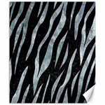 SKIN3 BLACK MARBLE & ICE CRYSTALS (R) Canvas 20  x 24