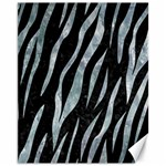 SKIN3 BLACK MARBLE & ICE CRYSTALS (R) Canvas 11  x 14
