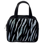 SKIN3 BLACK MARBLE & ICE CRYSTALS (R) Classic Handbags (One Side)