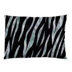 SKIN3 BLACK MARBLE & ICE CRYSTALS (R) Pillow Case