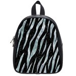 SKIN3 BLACK MARBLE & ICE CRYSTALS (R) School Bag (Small)